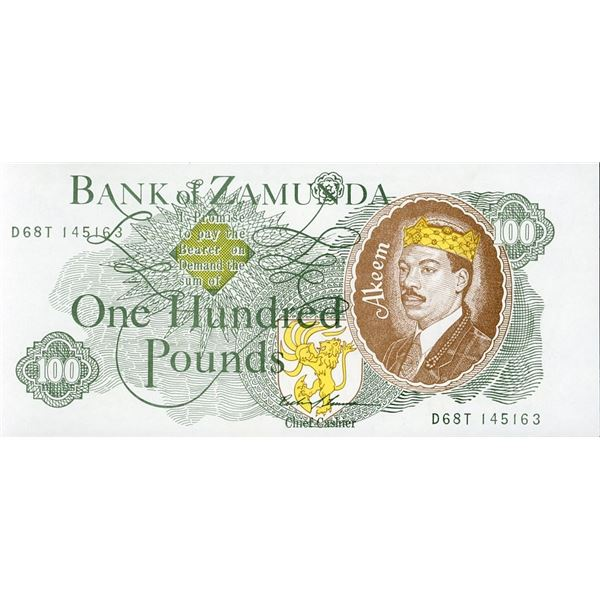 Coming To America Prop Currency Note