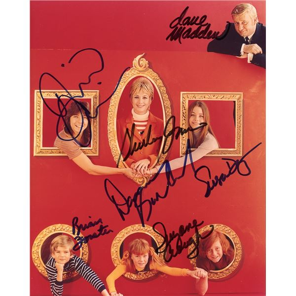 The Partridge Family Cast Signed 8x10 Photo