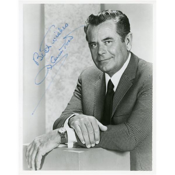 Glenn Ford Signed 8x10 Photo