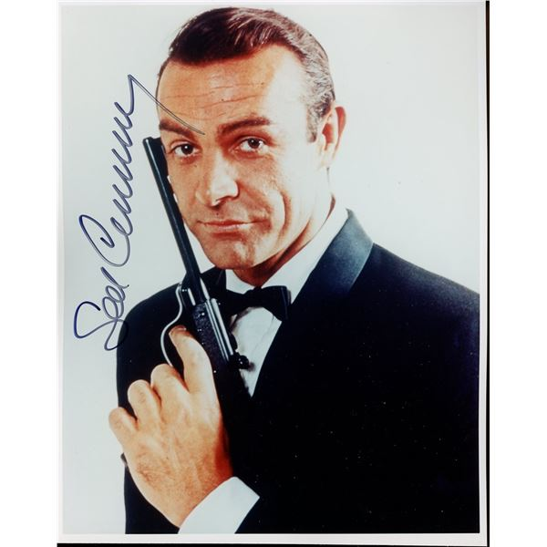Sean Connery Signed 8x10 Photo