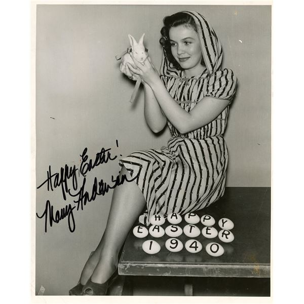Mary Anderson Vintage Signed Photo