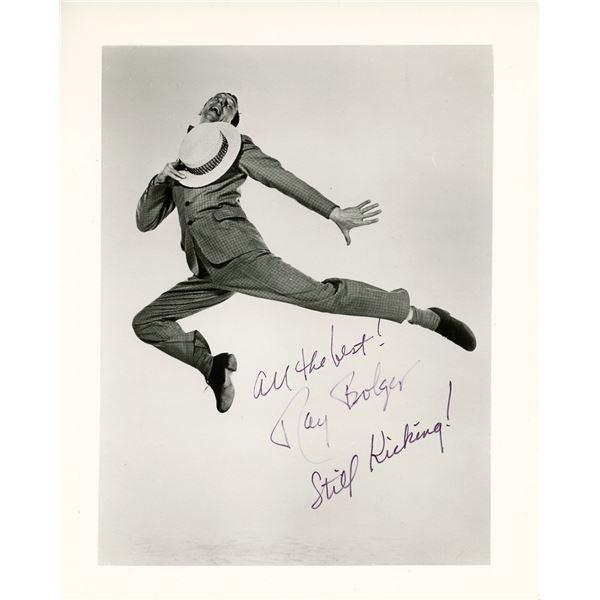 Ray Bolger Signed 8x10 Photo