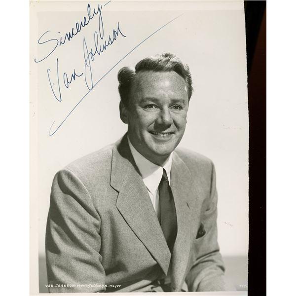 Van Johnson Signed 8x10 Photo