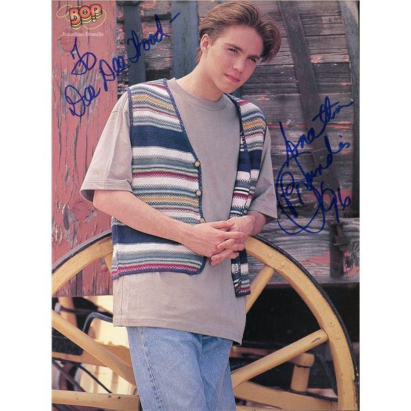 Jonathan Brandis Signed 8x10 Photo