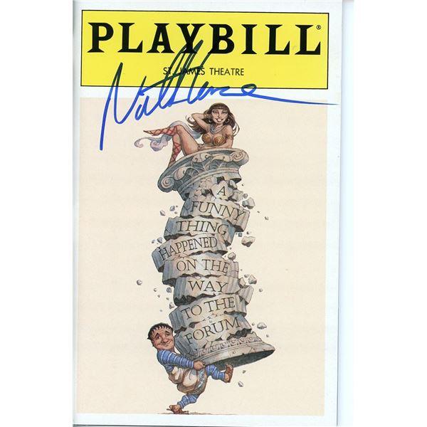 Nathan Lane Signed Playbill
