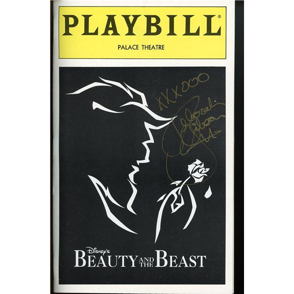 Debbie Gibson Signed Playbill