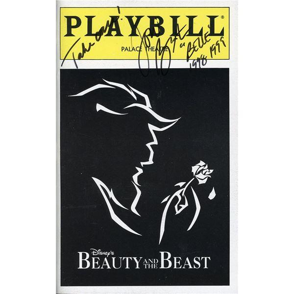 Toni Braxton Signed Playbill