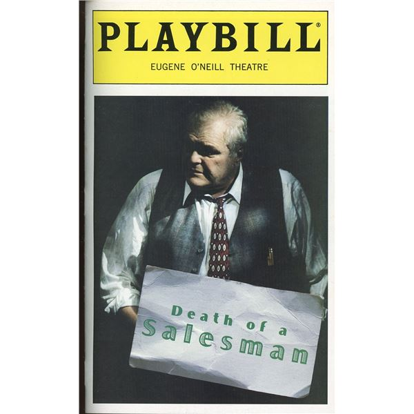 Brian Dennehy Death of a Salesman Cast Signed Playbill