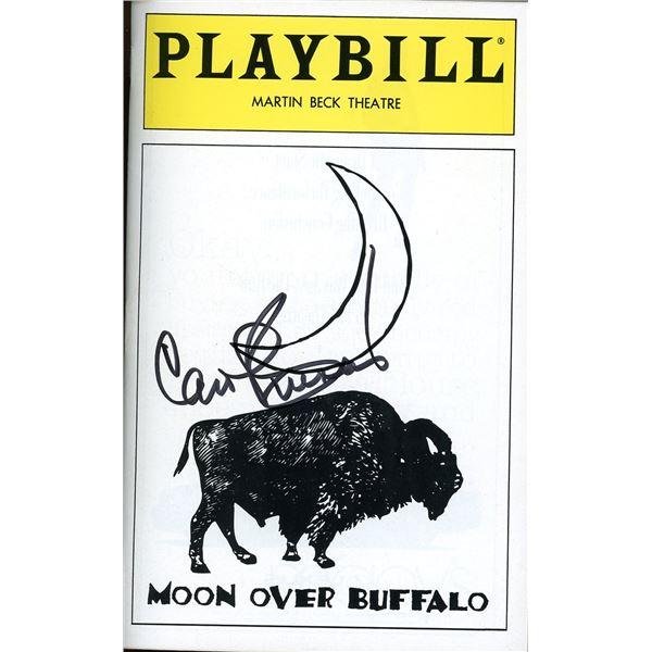 Carol Burnett Signed Playbill