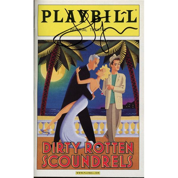 John Lithgow Signed Playbill