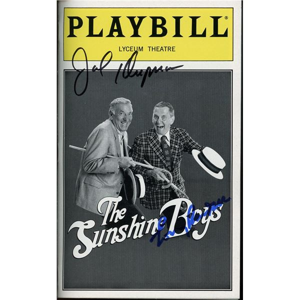 Jack Klugman Tony Randall Signed Playbill