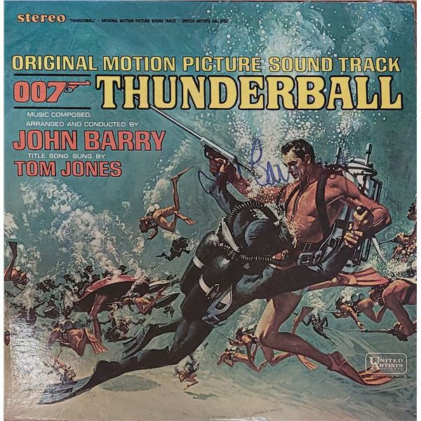 Sean Connery Signed Thunderball LP