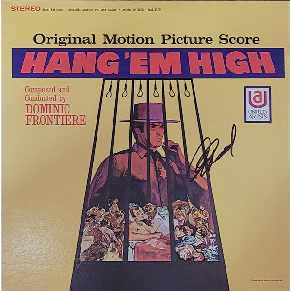 Clint Eastwood Signed Hang 'Em High LP