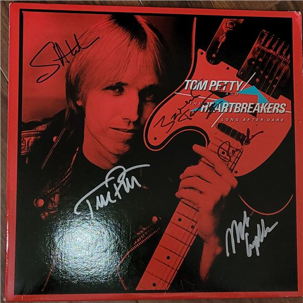Tom Petty and the Heartbreakers Signed LP