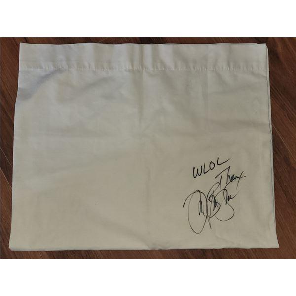 Jon Bon Jovi Signed Pillow Case