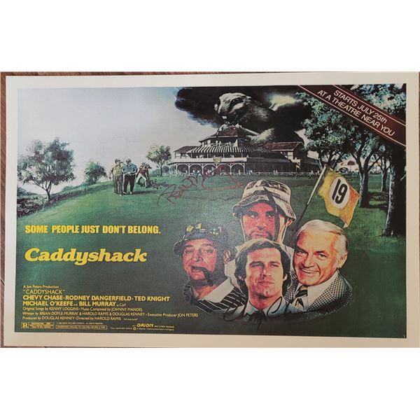 Bill Murray Chevy Chase Caddyshack Window Card