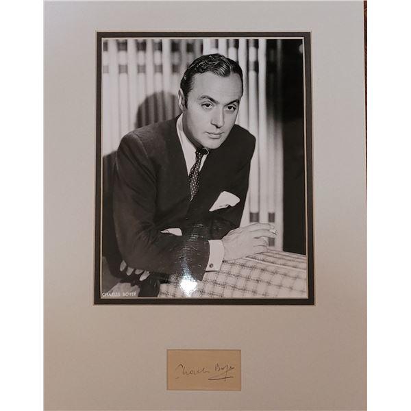 Charles Boyer Signature Cut