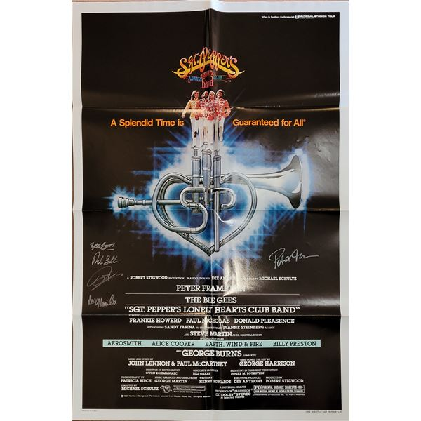 Sgt. Pepper's Lonely Hearts Club Band Signed Poster