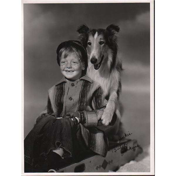 Jackie Butch Jenkins Lassie Original 11x14 Photo