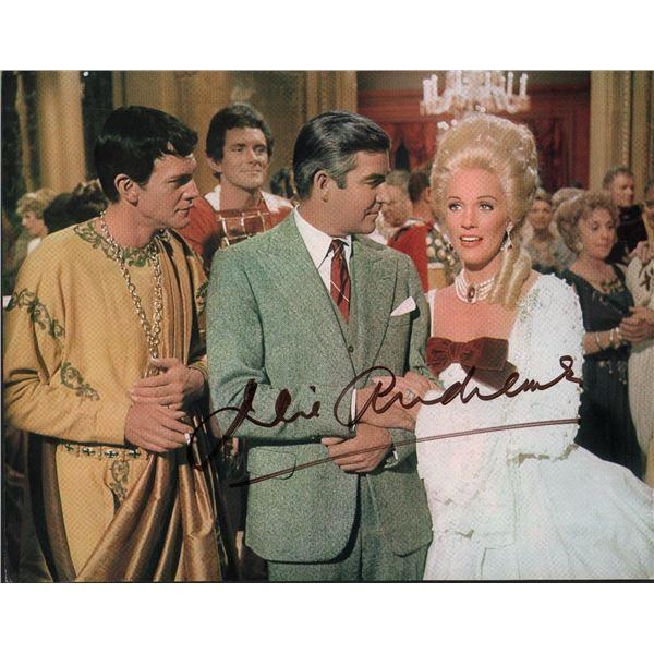 Julie Andrews Signed Star Lobby Card