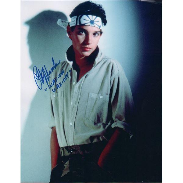 Ralph Macchio The Karate Kid Signed Photo