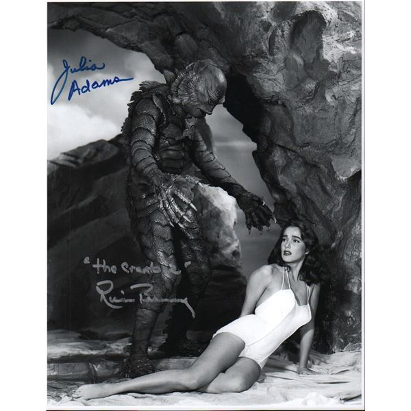 Julie Adams Ricou Browning Creature from the Black Lagoon Signed Photo