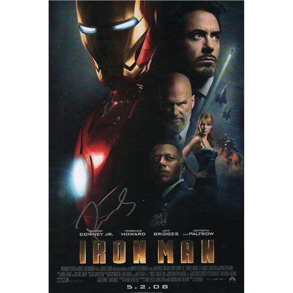 Robert Downey Jr Iron Man Mini Poster
