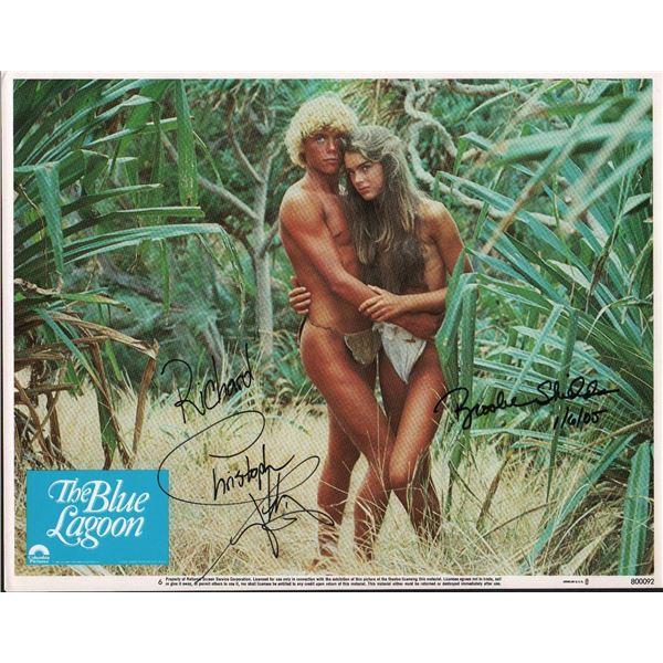 Christopher Atkins Brooke Shields The Blue Lagoon Lobby Card