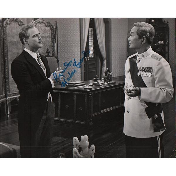 Marlon Brando Signed Original Photo