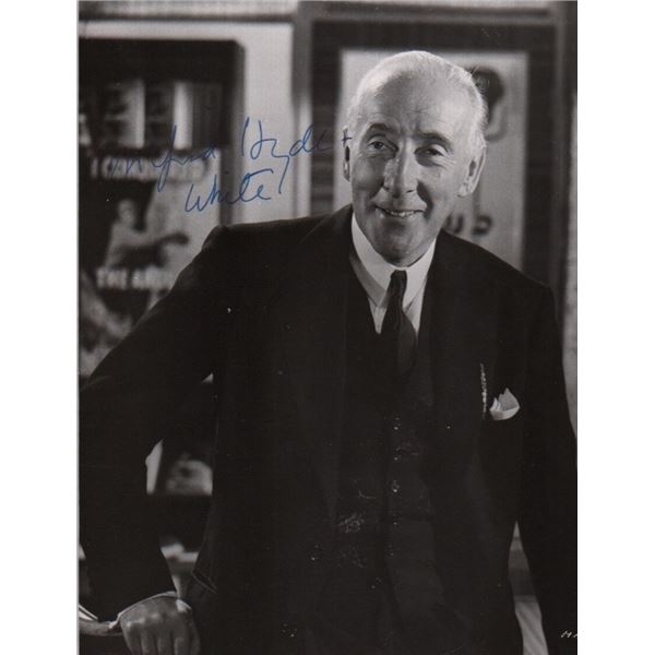 Wilfred Hyde White Signed Photo My Fair Lady