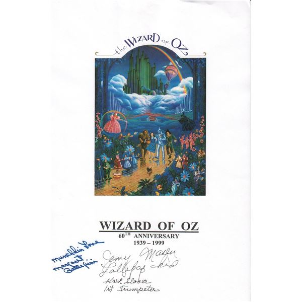 The Wizard of Oz Signed Print