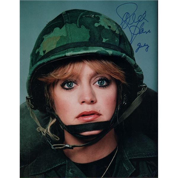 Goldie Hawn Signed 11x14 Photo Private Benjamin