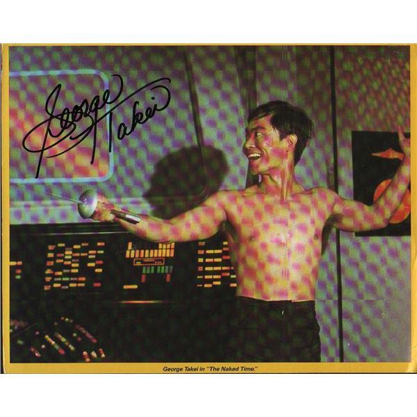 George Takei Signed Star Trek Print