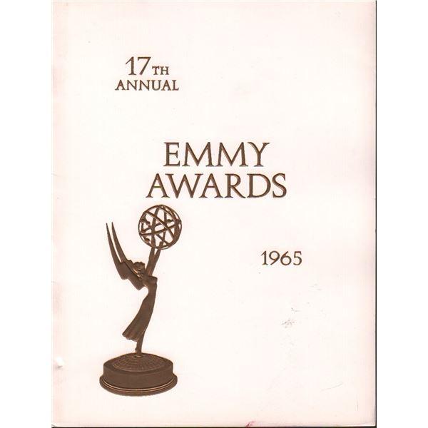 1965 Emmy Awards Program