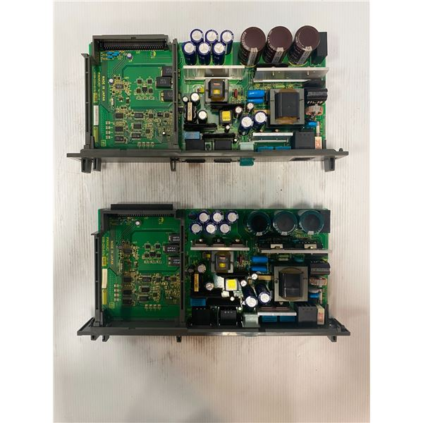 (2) - Fanuc A16B-2203-0370/13E Circuit Boards