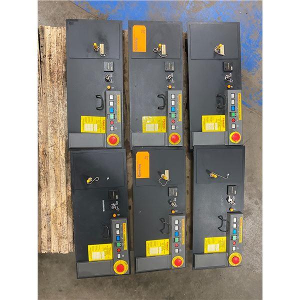 (6) Fanuc A05B-2452-C158 Operators Panels
