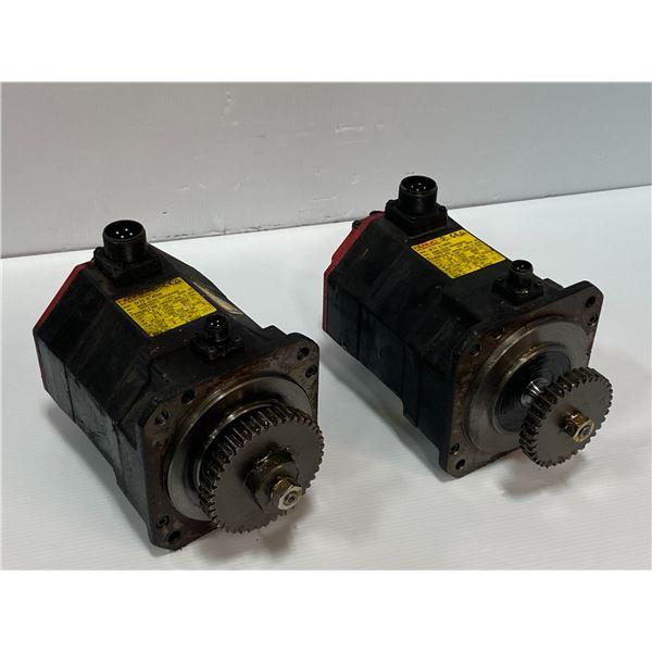(2) - Fanuc A06B-0235-B605#S000 Servo Motors