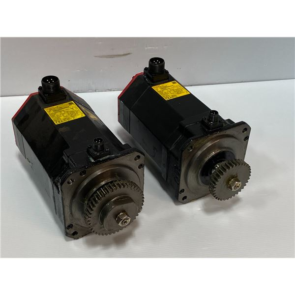 (2) - Fanuc A06B-0238-B605#S000 Servo Motors