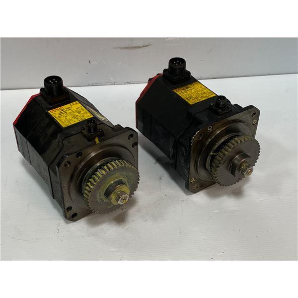 (2) - Fanuc A06B-0235-B605 AC Servo Motors
