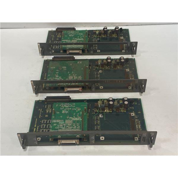(3) Fanuc A16B-2203-0190, A16B-2203-0192 Circuit Boards