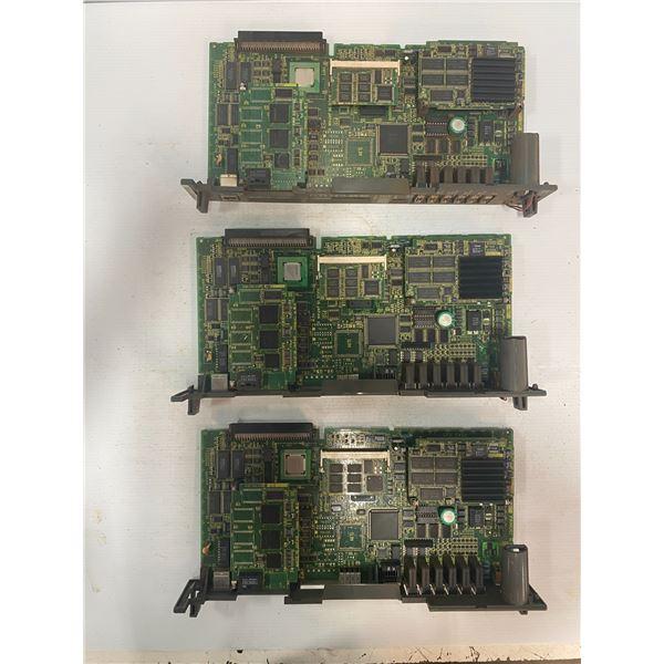 (3) - Fanuc A16B-3200-0412/03A Circuit Boards