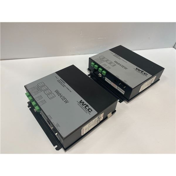 (2) - WTC 986-0054E Controllers