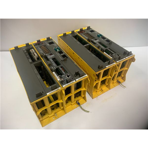 (2) - Fanuc Robot Control Racks with Boards (see pics)