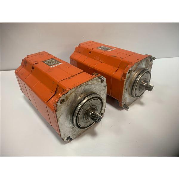 (2) - Siemens / ABB 1FK6083-6AZ21-9ZZ9-ZS03 / 3HAB6249-1 Servo Motors