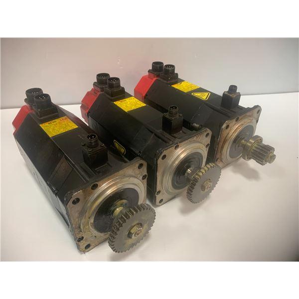 (3) - A06B-0163-B175 AC Servo Motors