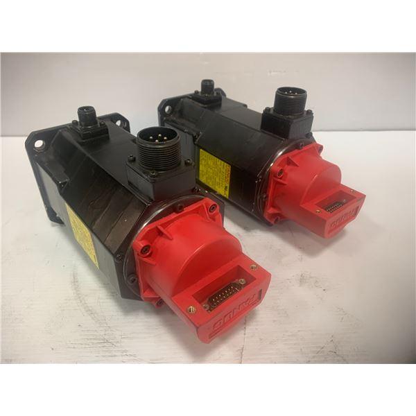 (2) - Fanuc A06B-0032-B675 AC Servo Motors