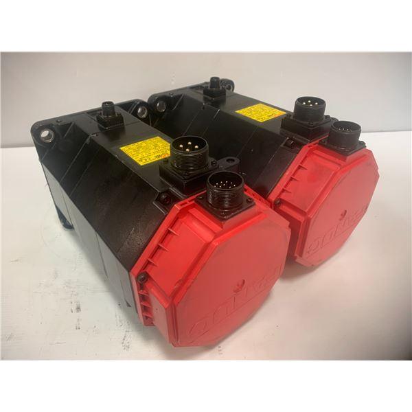 (2) - Fanuc A06B-0143-B175#0008 AC Servo Motors