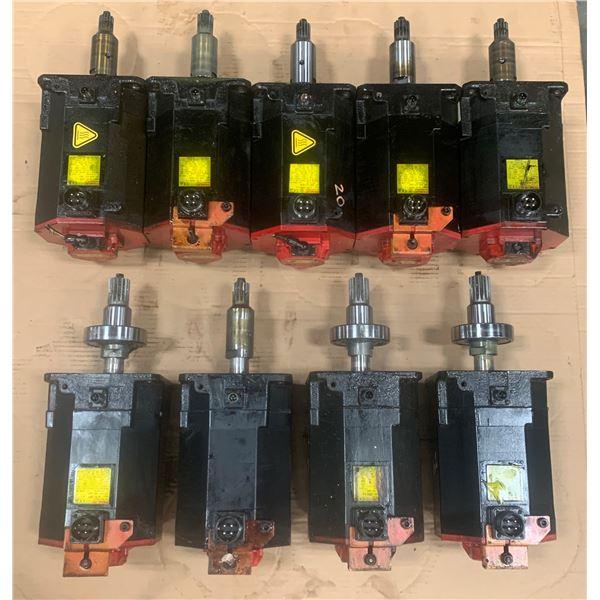 Lot of Fanuc Motor (see pics)