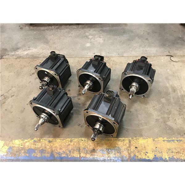 LOT OF (5) NACHI MFMA452D5V3 / MFM552H1V SERVO MOTOR