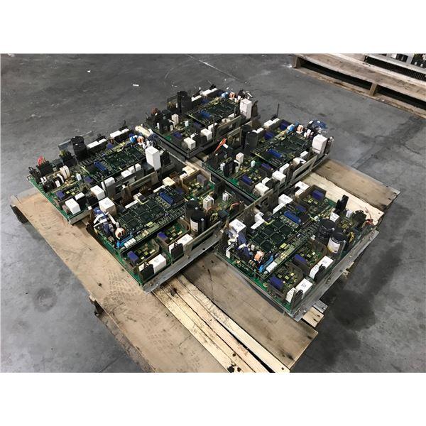 LOT OF (5) FANUC A06B-6105-H002 SERVO AMPLIFIER